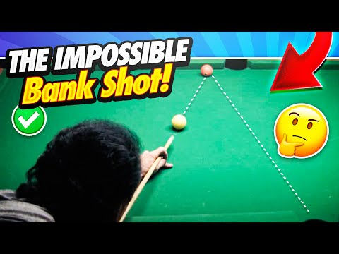 Pool Lessons - The Impossible Bank Shot! Supercharge Your Game ...