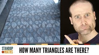 The Rug Puzzle: how many triangles?
