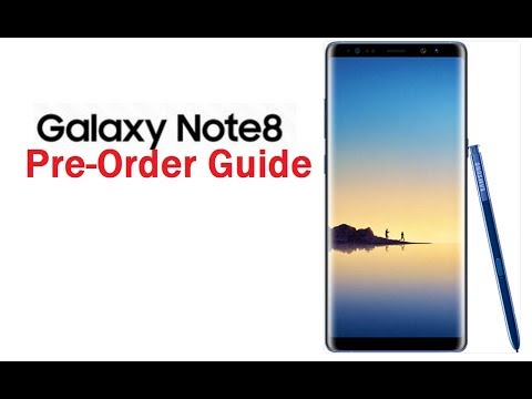 How to Preorder Galaxy Note 8