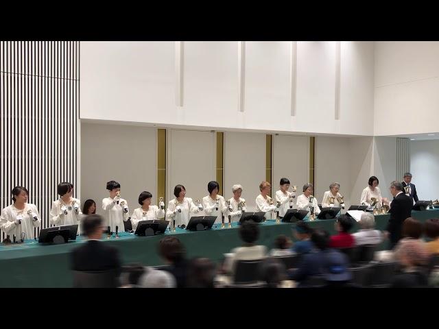 """ハンドベル Handbell, """"Grazioso"""", Kobe YMCA Bell-choir, 2019 Dec"""