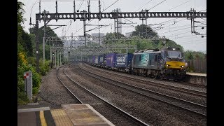 Freight Trains | Rugeley Trent Valley | Class 86