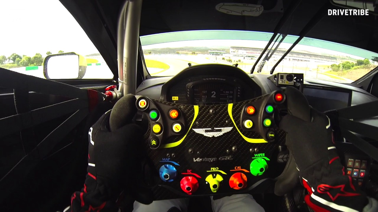 50 seconds of fury in the Aston Martin Vantage GTE race ...
