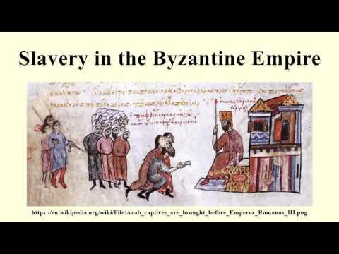 Slavery in the Byzantine Empire
