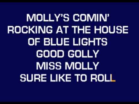 Little Richard - Good Golly Miss Molly karaoke