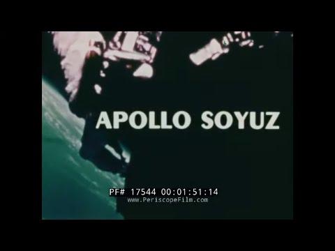 APOLLO SOYUZ TEST PROJECT INTRODUCTORY FILM  W/ USA & RUSSIA SPACE RACE  SOVIET UNION 17544