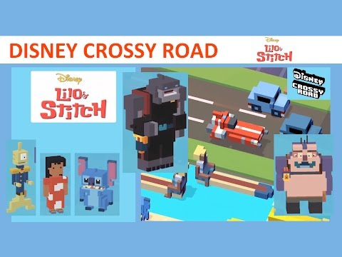 Disney Crossy Road Lilo & Stitch World (feat. Lilo, Stitch, Pleakley, Jumba, Gantu)