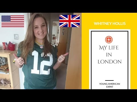 American in London, UK - Shoutout from Whitney Hollis - Young American Expat