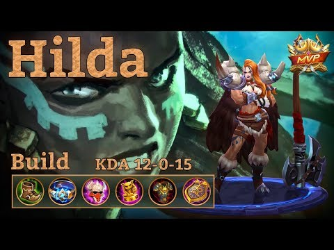 Mobile Legends: Hilda New Awesome Build! You Can't Escape!