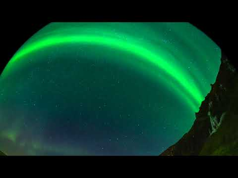 Auroras dance over Iceland in stunning time-lapse