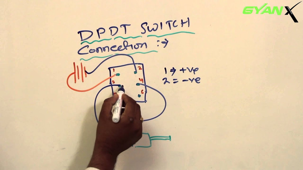 DPDT Switch Connection1 - YouTube