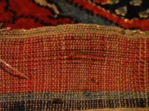 Antique Silk Persian Heriz: REAL Museum Quality Carpet