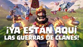Clash Royale en Español: ¡LA GUERRA DE CLANES YA ESTÁ AQUÍ!