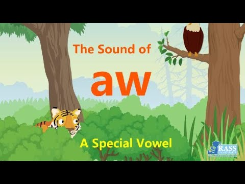 """The """"aw"""" Vowel"""