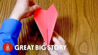 How to Make a Record-Setting Paper Plane