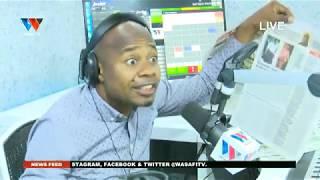 #LIVE: KURASA ZA MAGAZETI NA CHUMVI (WASAFI FM) - DECEMBER 11. 2019