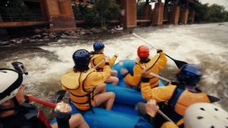 Whitewater Rafting on James River