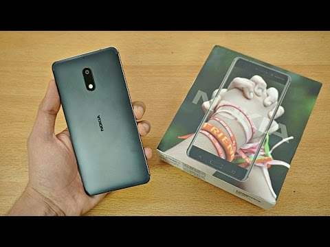 NOKIA 6 - Unboxing & First Look! (4K)