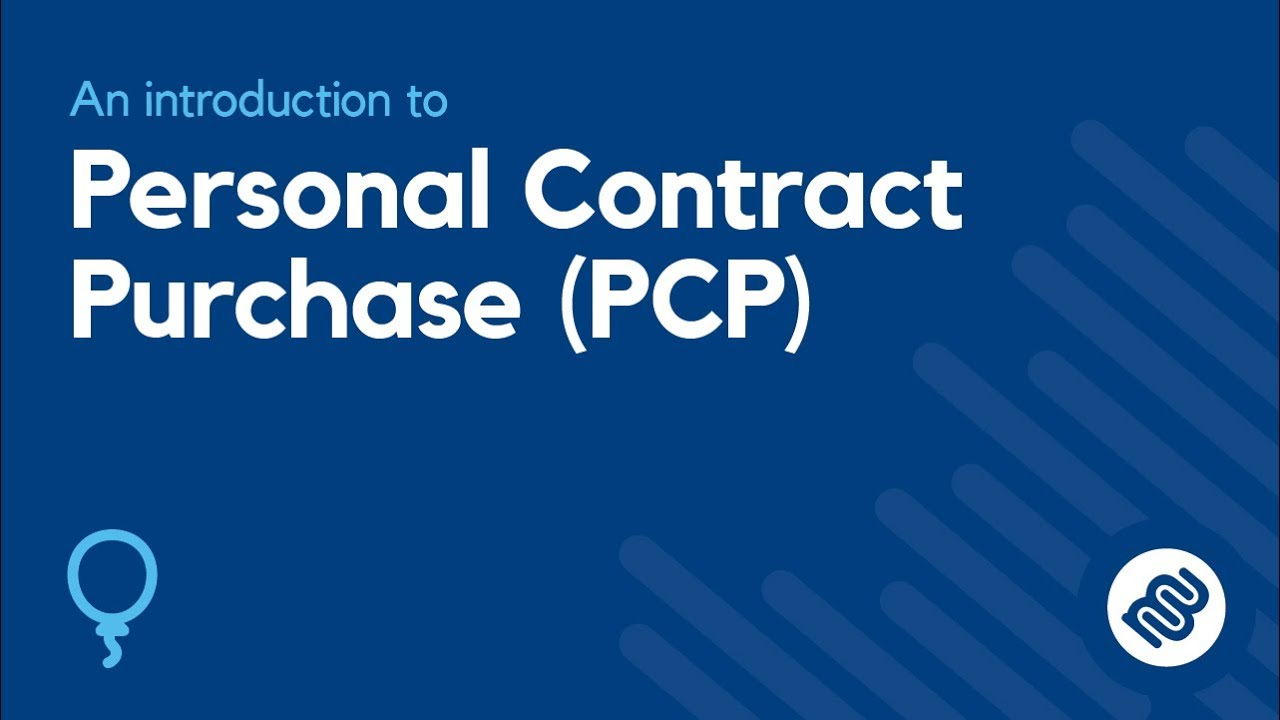 6c5e7ab02b What is Personal Contract Purchase (PCP)  Car Finance Explained ...