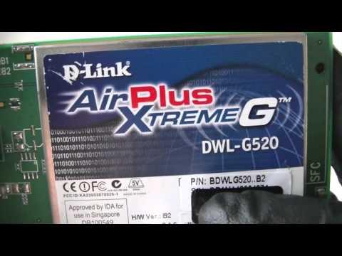 D Link AirPlus XtremeG DWL-G520