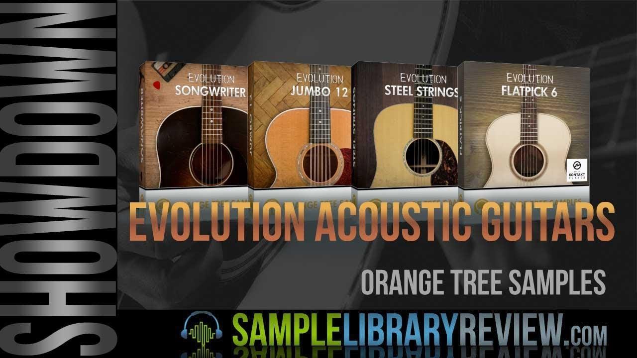 Virtual Acoustic Guitar Showdown Orange Tree Samples Evolution Kontakt Instruments Compared Youtube