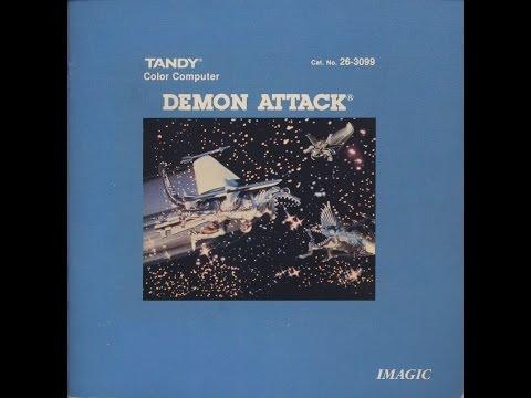 Demon Attack -  1984 - TRS-80 Color Computer Cartridge