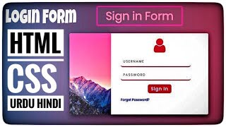 Login Form in  HTML CSS |  login Page HTML CSS | Pink Purple Gradient UI Design