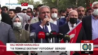 ''15 TEMMUZ DESTANI'' FOTOĞRAF  SERGİSİ