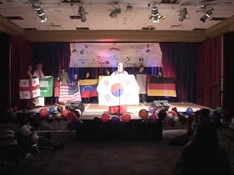 Flag Parade - ISA Festival '13