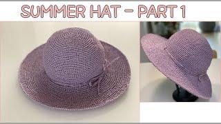 [  라피아얀으로 만드는 여름 모자 ] summer h…