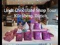 Best places to visit in Zürich - Swiss Lindt Chocolate Shop Tour Vlog
