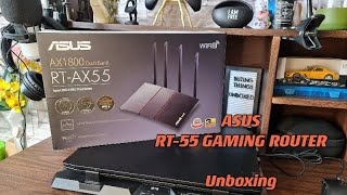 Asus RT AX55 Unboxing