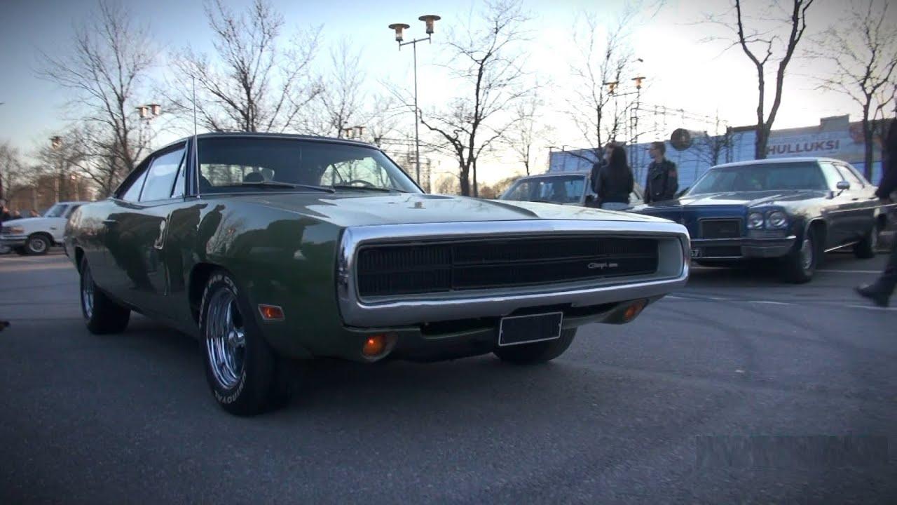 1970 Dodge Charger 6 3l 383 Mopar Big Block Sound Youtube