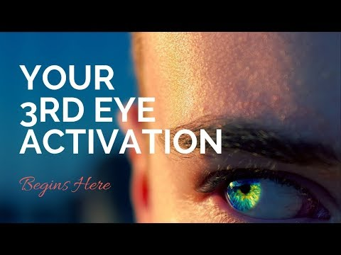 Your Clairvoyance Practice | Third Eye Activation Guided Meditation (Crown Chakra)