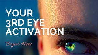 Your Clairvoyance Practice | Third Eye Activation Guided Meditation (Brow Chakra)