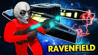 MASSIVE ALIEN ATTACK IN RAVENFIELD (Ravenfield Funny Gameplay)