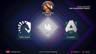 RU Team Liquid vs Alliance  Bo3  The Chongqing Major Europe Qualifier by Tekcac