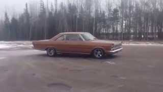 1965 ford galaxie 500 445 stroker burnout
