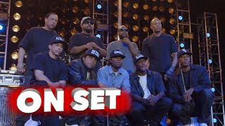 Straight Outta Compton: Exclusive Behind the Scenes Featurette - Dr. Dre, Ice Cube
