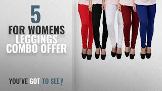 Top 10 For Womens Leggings Combo Offer [2018]: Subh World Leggings for Womens and Girls Cotton Lycra