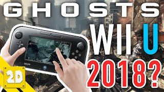 COD GHOSTS WII U IN 2018? IS IT STILL ALIVE?! CALL OF DUTY ON THE WII U | 2D