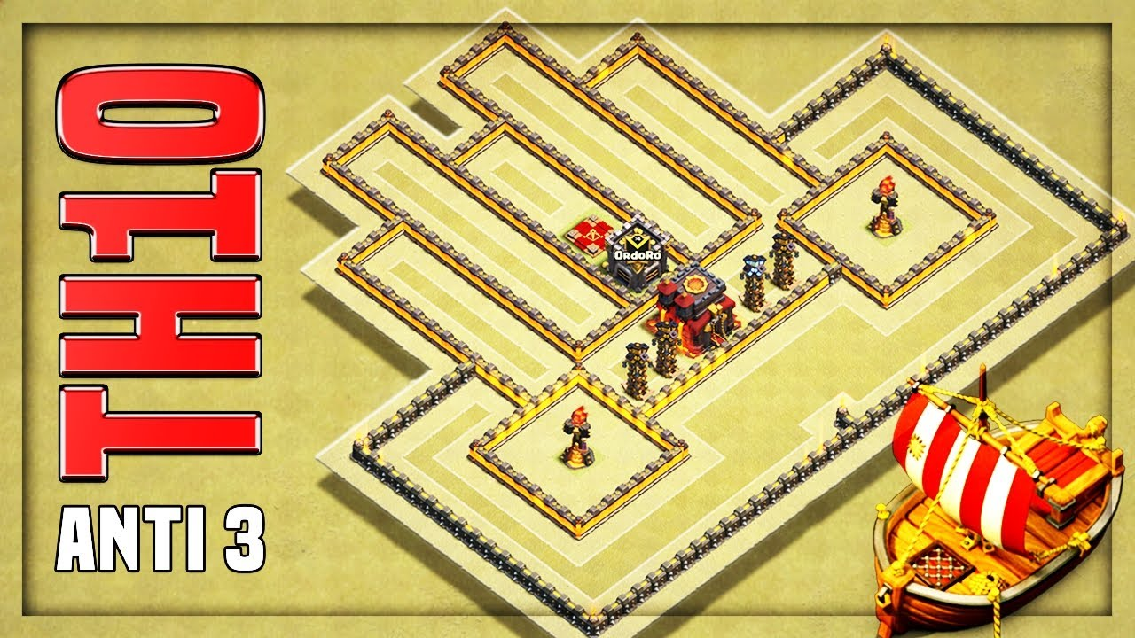 Th Star War Base  Replays  F F  B Th War Base No Cc Lure  F F  B Clash Of Clans
