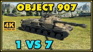 World of Tanks | Object 907 - 10 Kills - 8K Damage