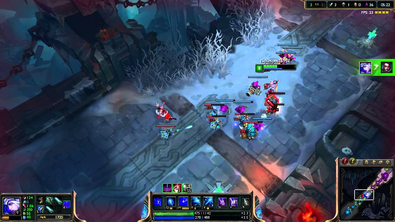 Lets play - LoL [02] - Ashe Guide *HD* - YouTube