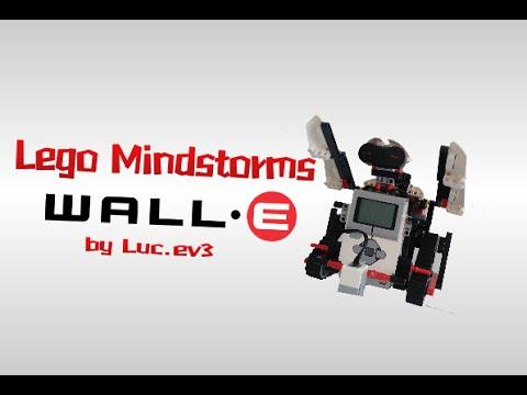 Lego Mindstorms Wall-e!!! -Luc.Ev3 - YouTube