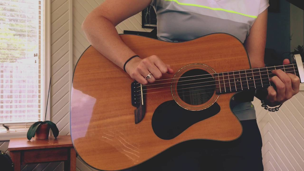 That Year Brandi Carlile Guitar Cover Youtube