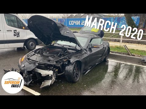 Supercar Fails - Best Of March 2020