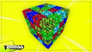 GIANT RUBIK'S CUBE PUZZLE MAP! (Garry's Mod)