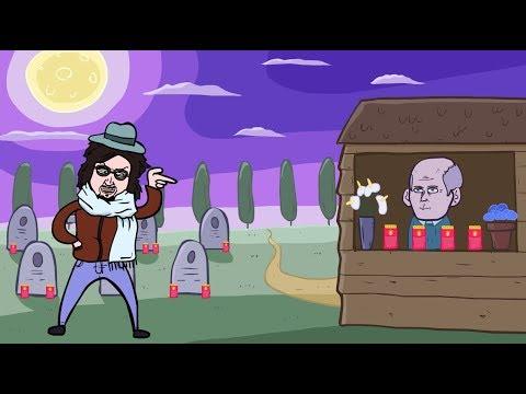 Alessandro Borghese giudica un cimitero