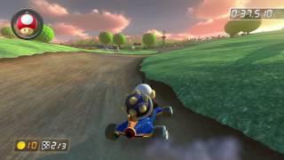 Wii Moo Moo Meadows - 1:20.477 - ヴイクター (Mario Kart 8 World Record)