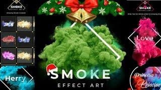 App Review Of Smoke Effect - Focus N Filters, Text Art Editor text editor software screenshot 3